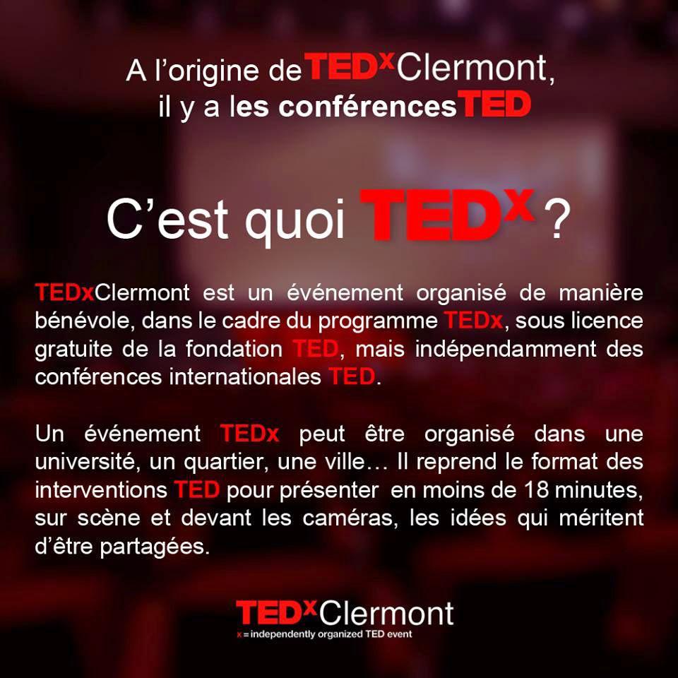 Creche Tipipole - Conferences TEDx à Clermont-Ferrand